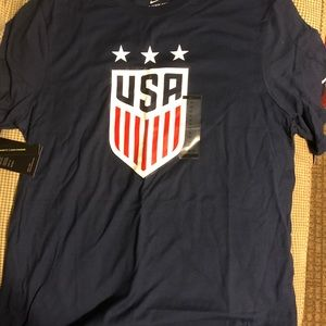 Brand New Navy Nike USA Shirt